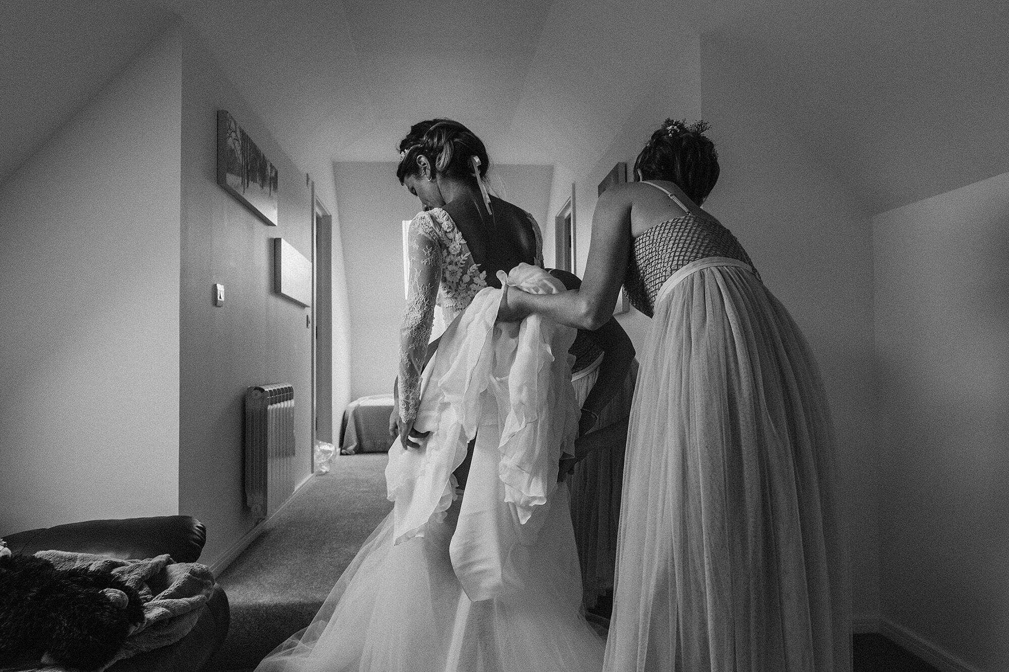 Bride west sussex wedding