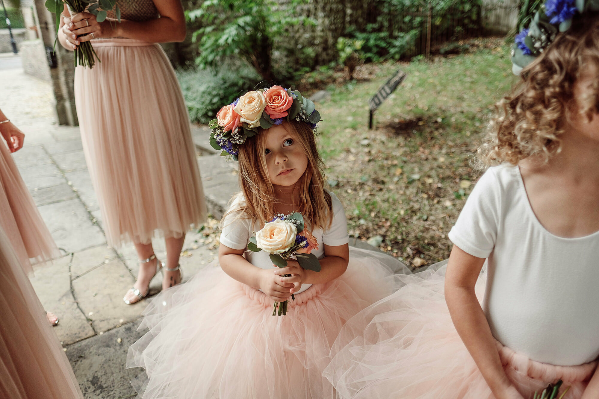 Flower girls west sussex wedding
