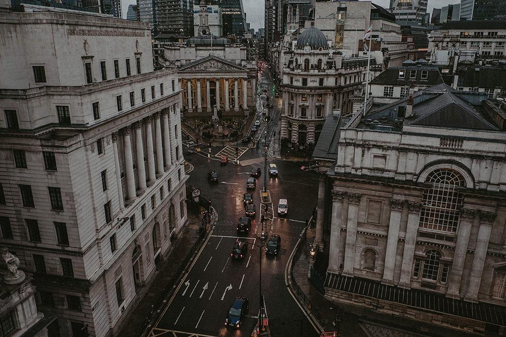 London Financial District Wedding